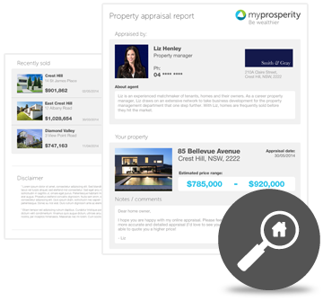features - Detailed property reports